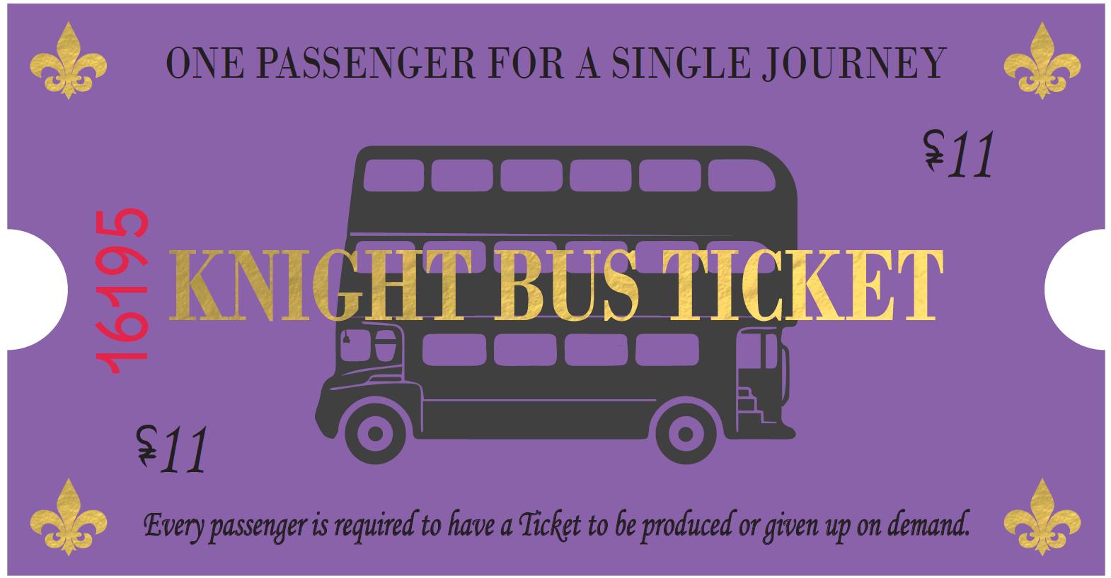 Fangirltastic   WordPress.com  Bus Ticket Template